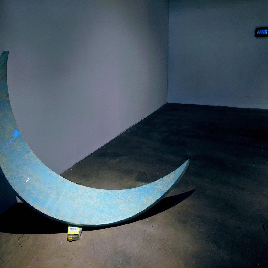 moon's milk ( installation , Contact Katowice 2017)